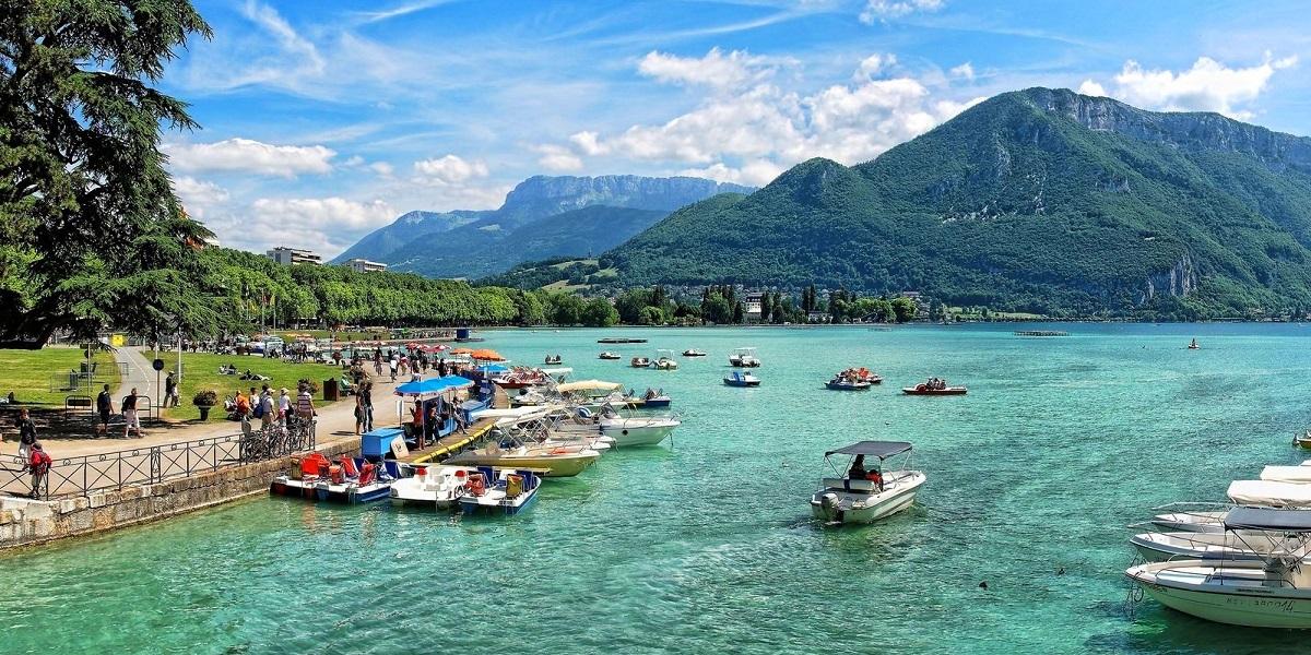 Экскурсия на озеро Анси, Франция