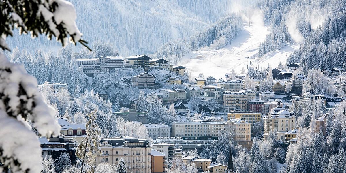 Бад Гаштайн в Австрии нередко называют «альпийским Монте-Карло».