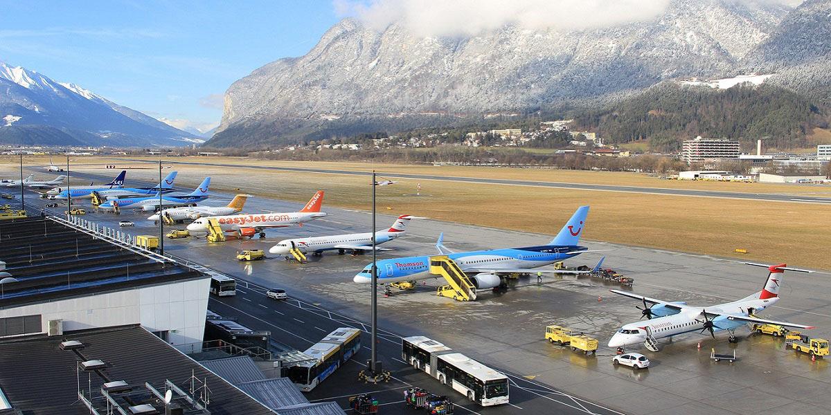 Добраться в Ишгль из аэропорта Инсбрук