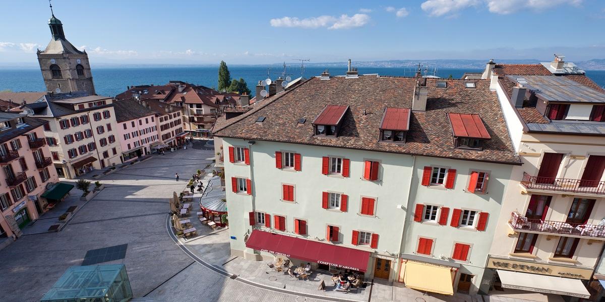 Экскурсия в Эвиан-ле-Бен (Evian-les-Bains) с гидом