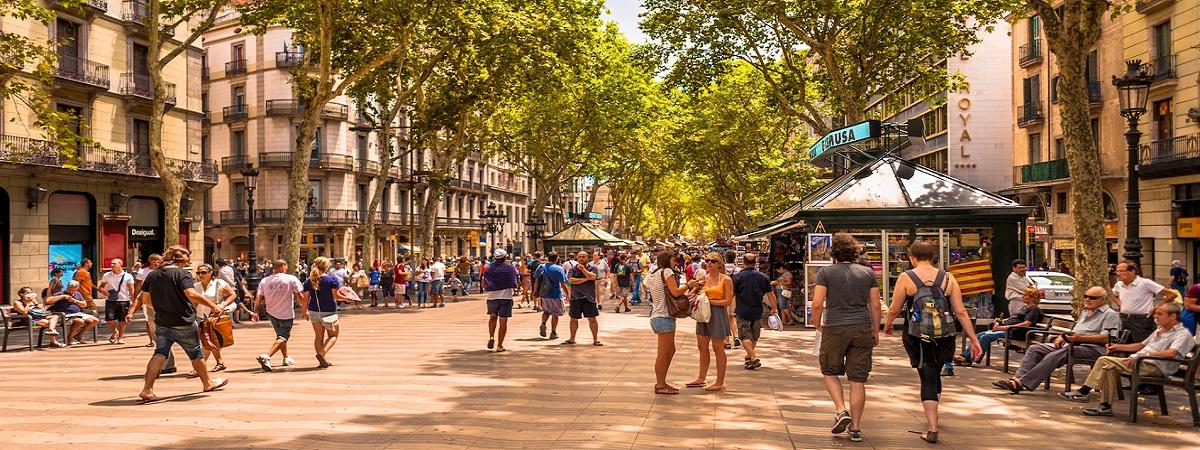 Экскурсия по пешеходной улице Рамбла в Барселоне